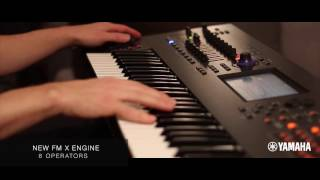 Yamaha MONTAGE Sound Sample x new FM X Engine