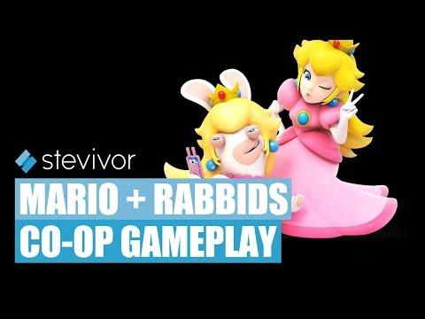 Mario + Rabbids Kingdom Battle: Co-operative gameplay   Stevivor
