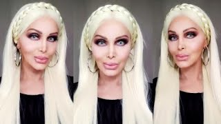 SUMMER GLOW Makeup Look on Platinum Blond Hair