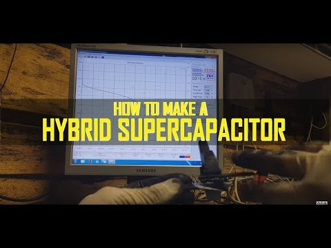 How To Make a Hybrid Supercapacitor