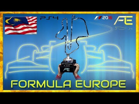 Formula Europe #FECL 2017 - 04 Malaysia GP Sepang (F1 2016) 08.06.17 - Live Streaming 1080p HD