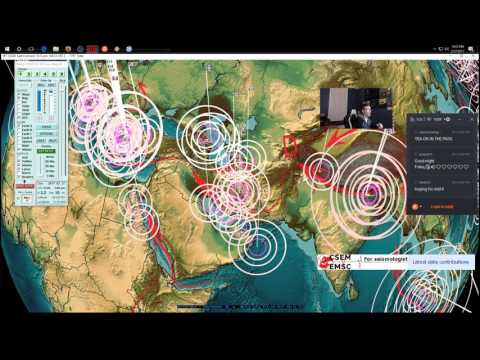 2/27/2017 -- Nightly Earthquake Update + Forecast -- Unrest spreading outwards across Pacific