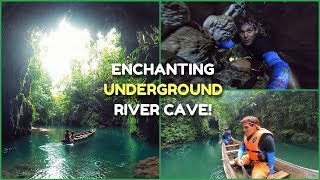 PHILIPPINES BEST Tourist Spots | Enchanted UNDERGROUND RIVER Cave | Apayao