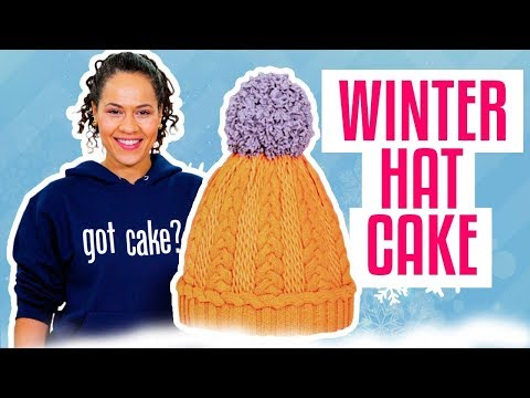 How To Make A Classic WINTER HAT Out Of VANILLA & CHOCOLATE Cake | Yolanda Gampp | How To Cake It