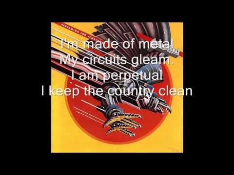 Judas Priest - Electric eye LYRICS ON SCREEN
