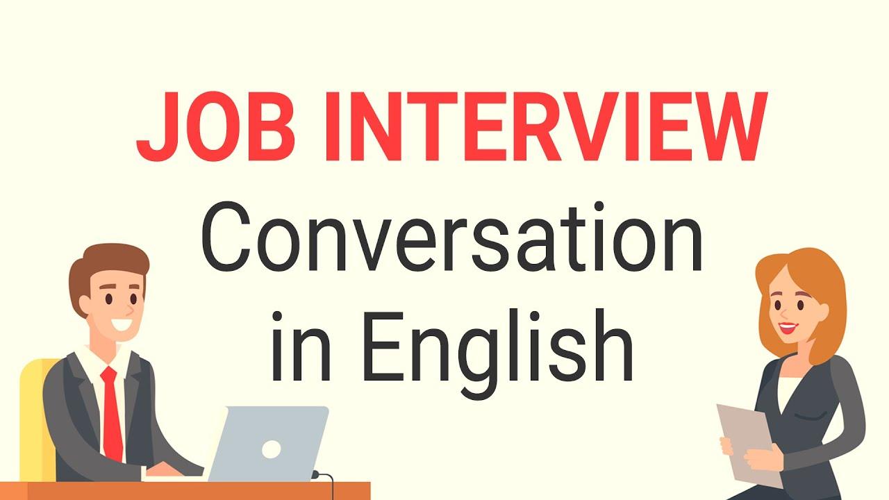 Job Interview Conversation in English | Job Interview ...