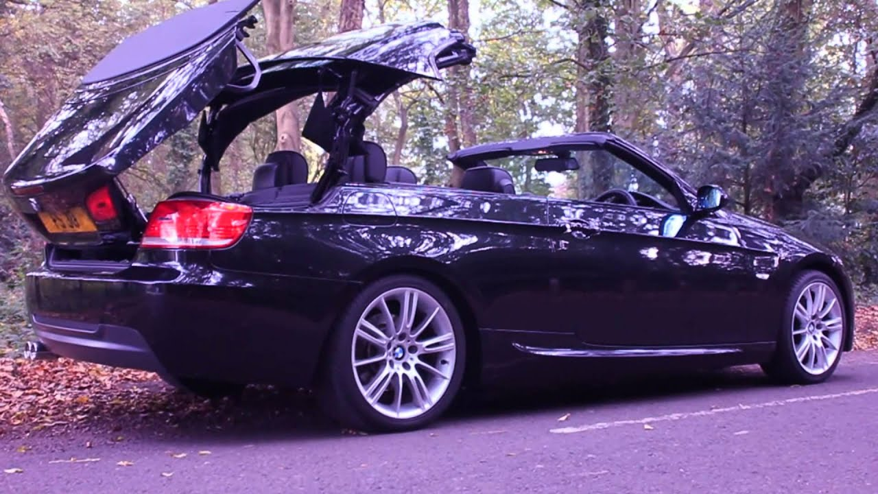 bmw 320i convertible - youtube