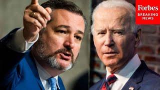 JUST IN: Ted Cruz Attacks Biden In Epic Speech Slamming Nord Stream 2 Pipeline Policy