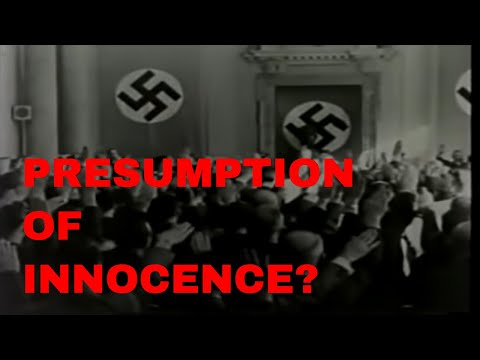 Courtroom footage of some of the men who attempted to assassinate Adolf Hitler
