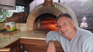 How to Use a Wood Fired Pizza Oven