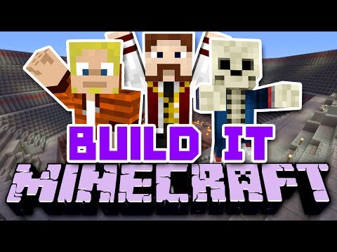 Build It Minecraft - Sem Abrigo TROLL (c/ D4rkFrame e Wuant)