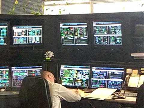 Control Room - San Jose Santa Clara Water Pollution Treatment Plant tour -1