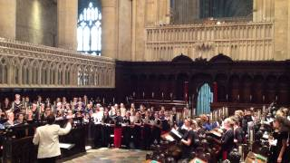 4. Agnus Dei   Missa Brevis No. 1 - Peter Robb -  Canterbury Cathedral