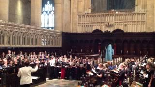 4. Agnus Dei   Missa Brevis No. 1 - Peter Robb -  Canterbury Cathedral