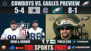 Eagles vs. Cowboys Week 11 preview with Philly.500