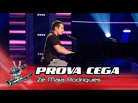 "Zé Maia Rodrigues - ""Talk is Cheap"" | Prova Cega | The Voice Portugal"