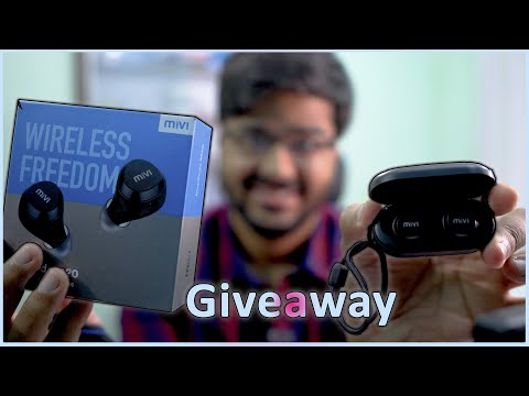 MIVI DuoPods M20 Unboxing With Giveaway And Quick Review-Worth ₹2000.