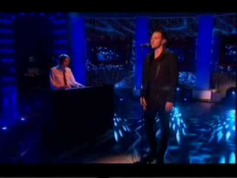 Will Young singing Evergreen on the Paul O'Grady Show