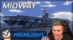 World of Warships - Man tut was man kann - Midway [Stream Highlight]