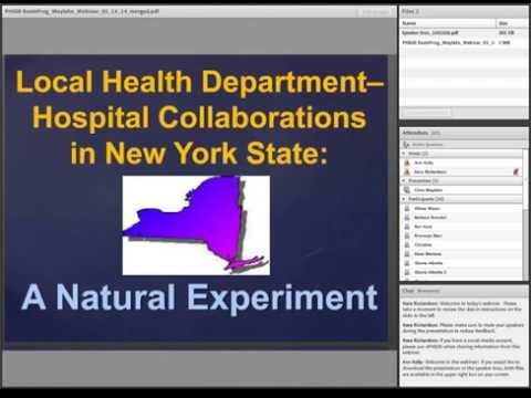 05.14.14-Local Health Department–Hospital Collaborations in New York State: A Natural Experiment