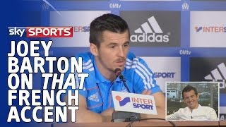 Joey Barton discusses THAT French accent - Goals on Sunday - 17th August 2014