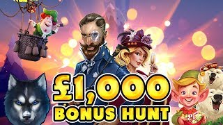 UPPING THE STAKES for my £1,000 bonus hunt! Will I WIN?!