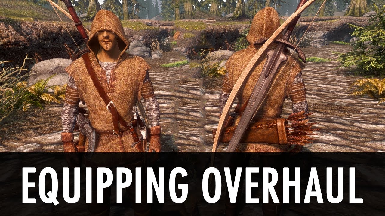 Skyrim Mod: Equipping Overhaul - YouTube