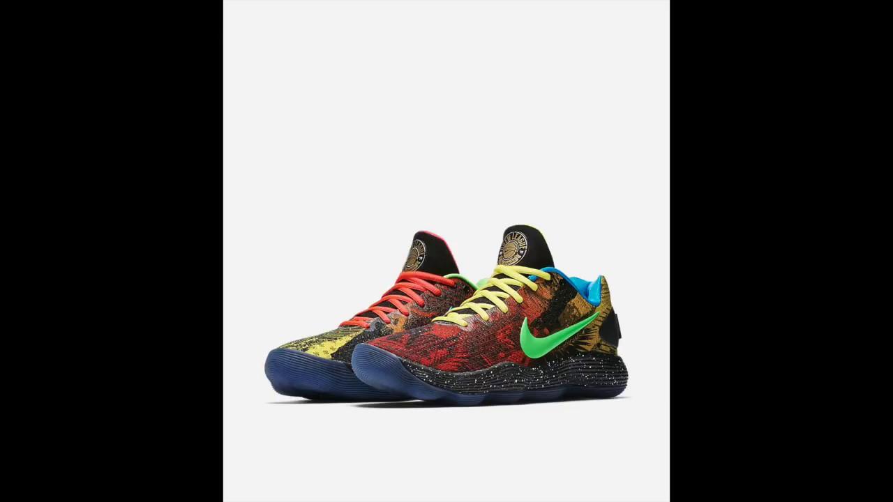 980393f7c6b1 Nike - React Hyperdunk 2017 - LOW - Los Angeles - Multicolor - YouTube