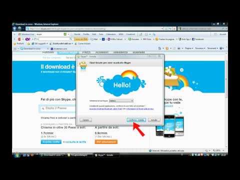 Come Installare Skype.avi