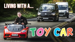 homepage tile video photo for Living With A Road-Legal Kids' Car