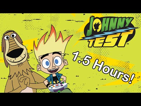 Johnny Test Full Episodes - Season 2 Compilation (Episodes 1-4)