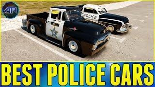 Forza Horizon 2 Online : Top Gear Challenge - BEST POLICE CAR CHALLENGE!!! (Part 2)