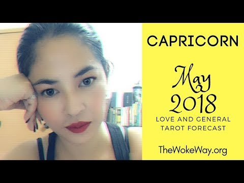 CAPRICORN - May 2018 - STOP WITH THIS PARANOIA ALREADY | TheWokeWay.org