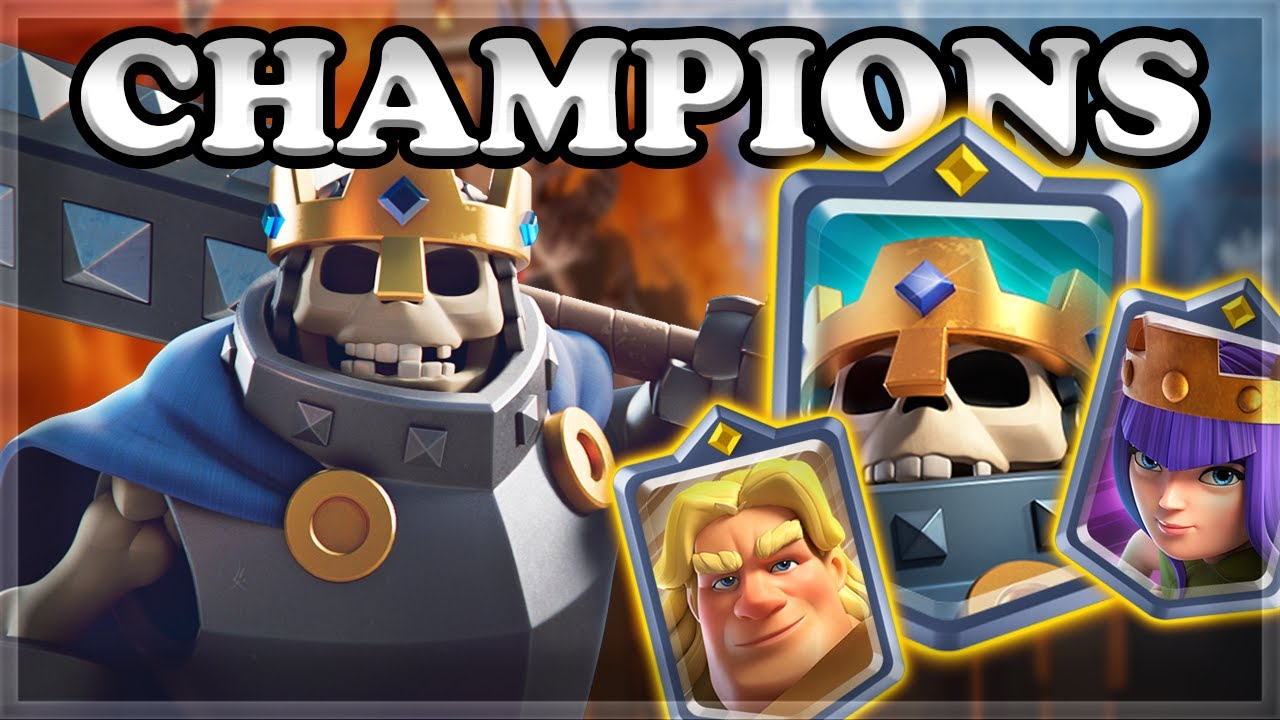 Download Clash Royale Champions Gameplay 🍊