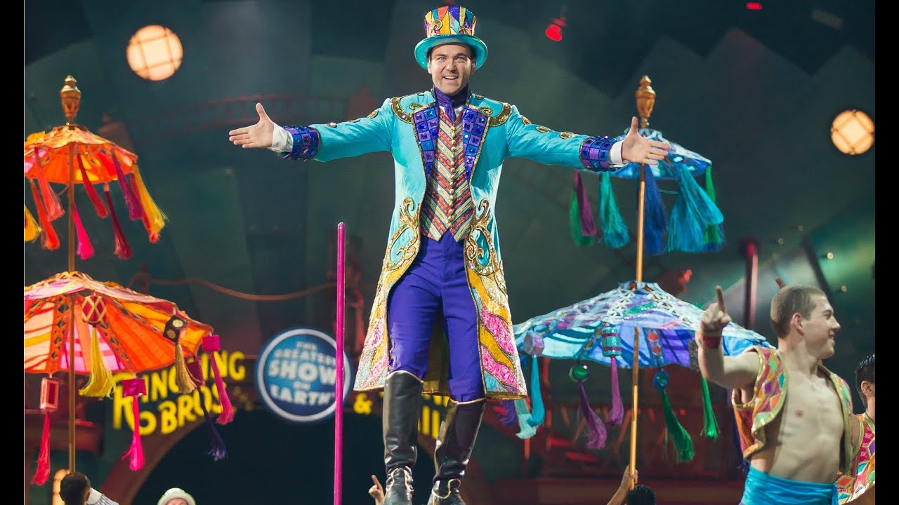 """barnum circus Pt barnum, the greatest showman on earth, combines razzle-dazzle with charm and brass to sell """"humbug"""" to cheering crowds a joyful and moving musical portrait of the nineteenth century's greatest show-biz legend, barnum is a colorful, dynamic spectacle with heart."""
