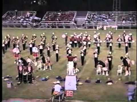 TR Miller High School Marching Band 1998