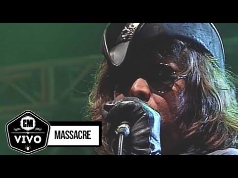Massacre (En vivo) - Show Completo - CM Vivo 2008
