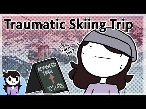 Thumbnail: Winter & My Traumatic Skiing Trip