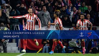 UEFA Champions League |  Atletico Madrid v Bayer 04 Leverkusen | Highlights