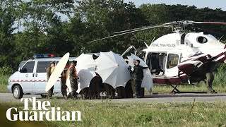 Twelve people rescued from Tham Luang caves