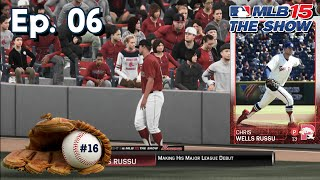 MLB 15 The Show (PS4) Road To The Show SP Ep. 6   MLB Debut