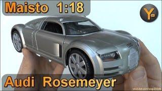 Audi Rosemeyer Videos