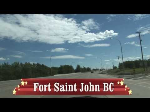 Ultralapse fort nelson bc heading south