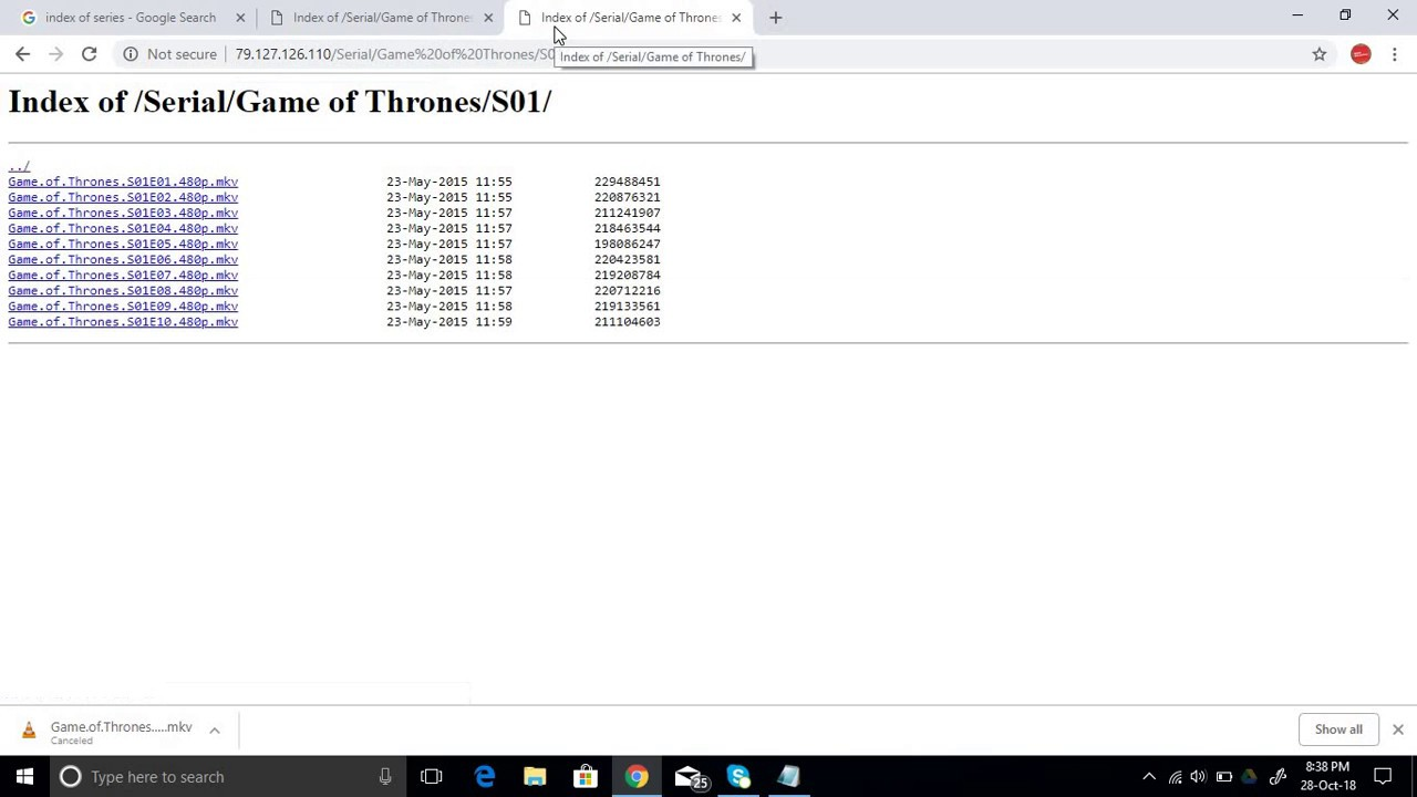 Download Games of thrones (GOT) all seasons in 1 min