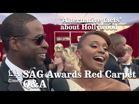 SAG Awards Red Carpet: Alternative Facts| Los Angeles Times