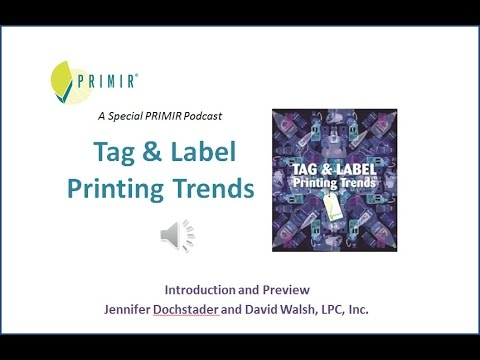 PRIMIR Tag and Label Printing Trends