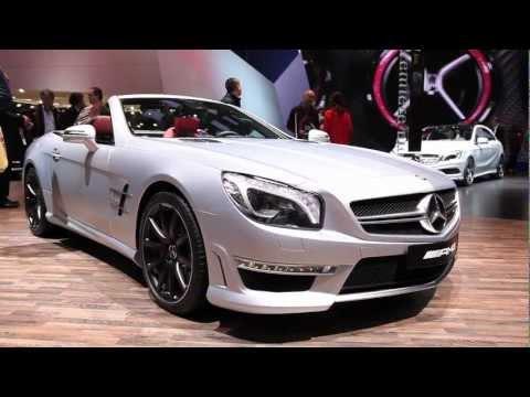 2013 Mercedes Benz SL 63 - 2012 Geneva Motor Show