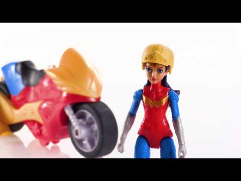 DC Super Hero Girls Wonder Woman Action Figure With Motorcycle | Toys R Us Canada