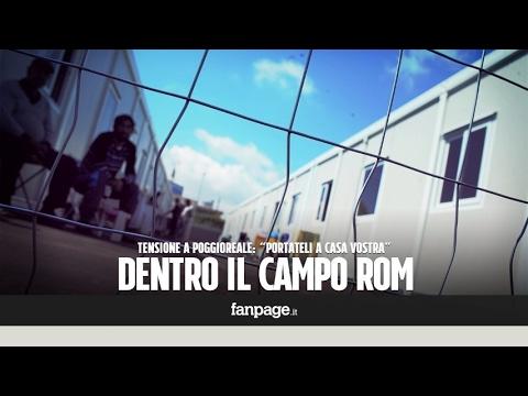 """""""I rom? Portateli a casa vostra"""": a Napoli proteste per il nuovo campo di Poggioreale"""