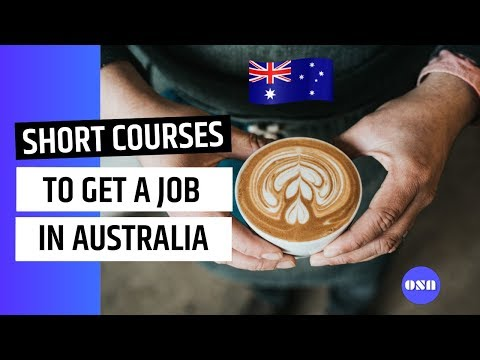 Short courses that can help to get a job in Australia #internationalstudents #shortcourses